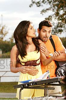 Priyanka Chopra in a still from Dostana Khabar nahi song yellow dress