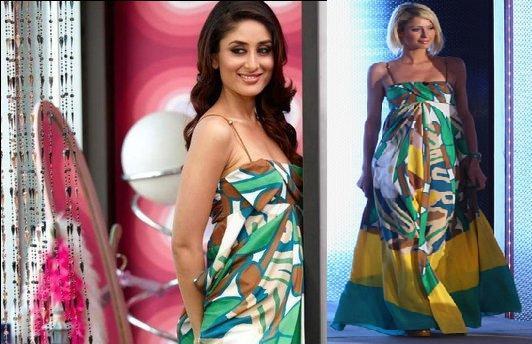 Kareena Kapoor Kambhakt Ishq DVF maxi