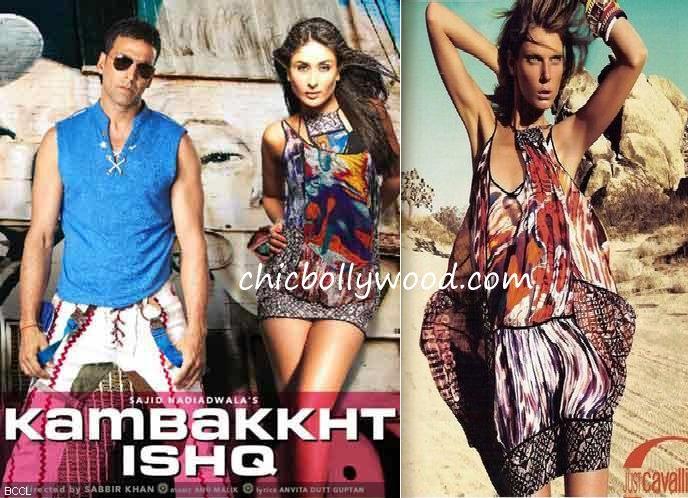 Kareena Kapoor Kambhakt Ishq Just Cavalli