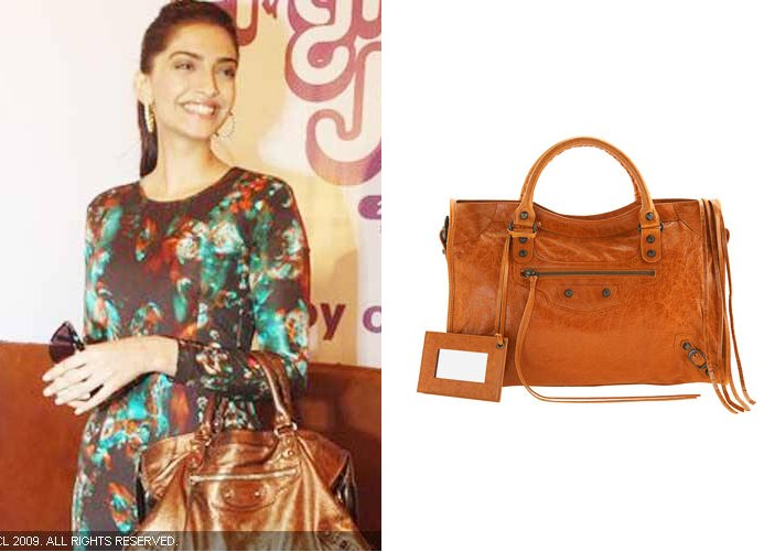 Sonam Kapoor Joy of Giving Week event balenciaga handbag