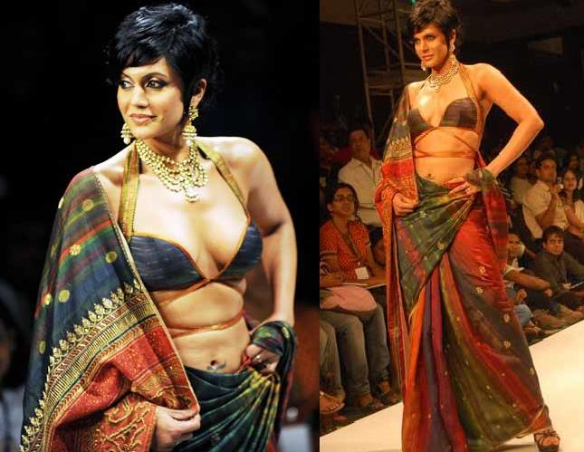 Mandira Bedi Satya Paul Kolkatta Fashion Week