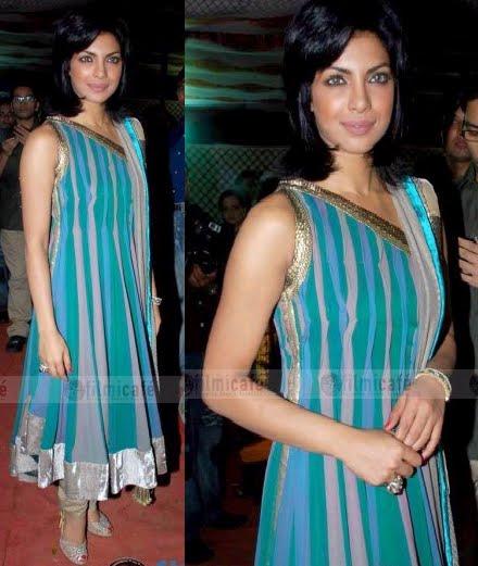 Priyanka Chopra Manish Malhotra suit Harmony Week