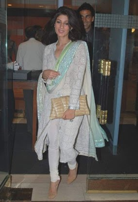 Twinkle Khanna suit Vancouver Olympics