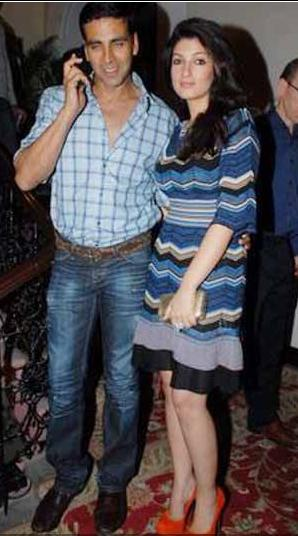 Akshay Kumar Twinkle Khanna Bombay Times 15th Anniversary Party