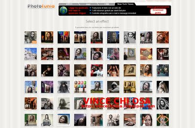 Photofunia, servizio per aggiungere effetti alle foto