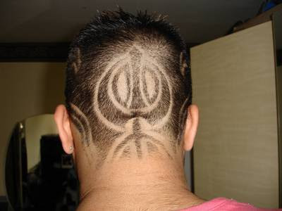 Image result for khanda haircut