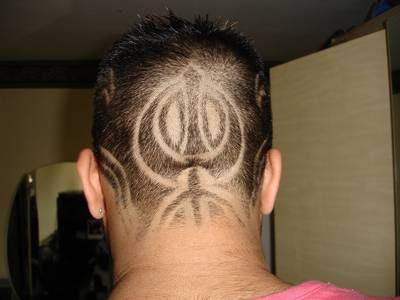 Image result for khanda haircut