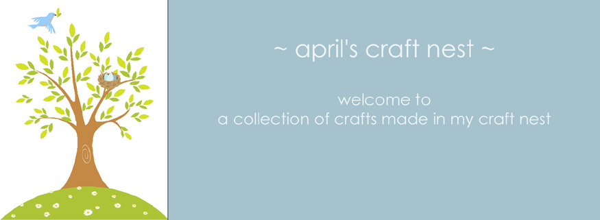 april&#39;s craft nest