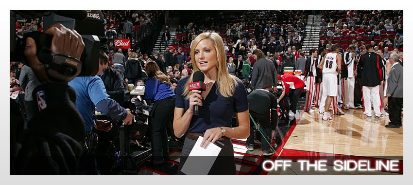 Off the Sideline - A Blog by Rebecca Haarlow