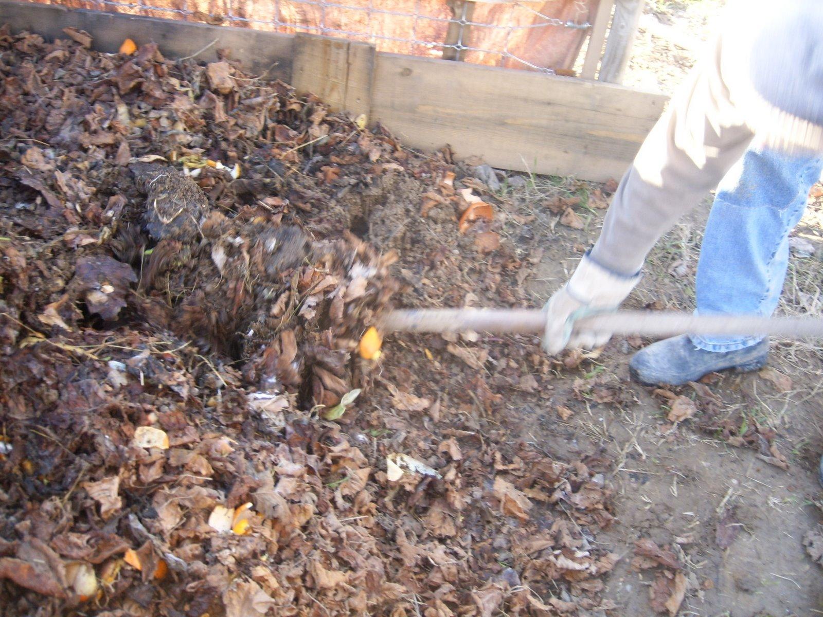 La huerta de mendigorr a charo cea como hacer compost casero - Como hacer compost en casa ...