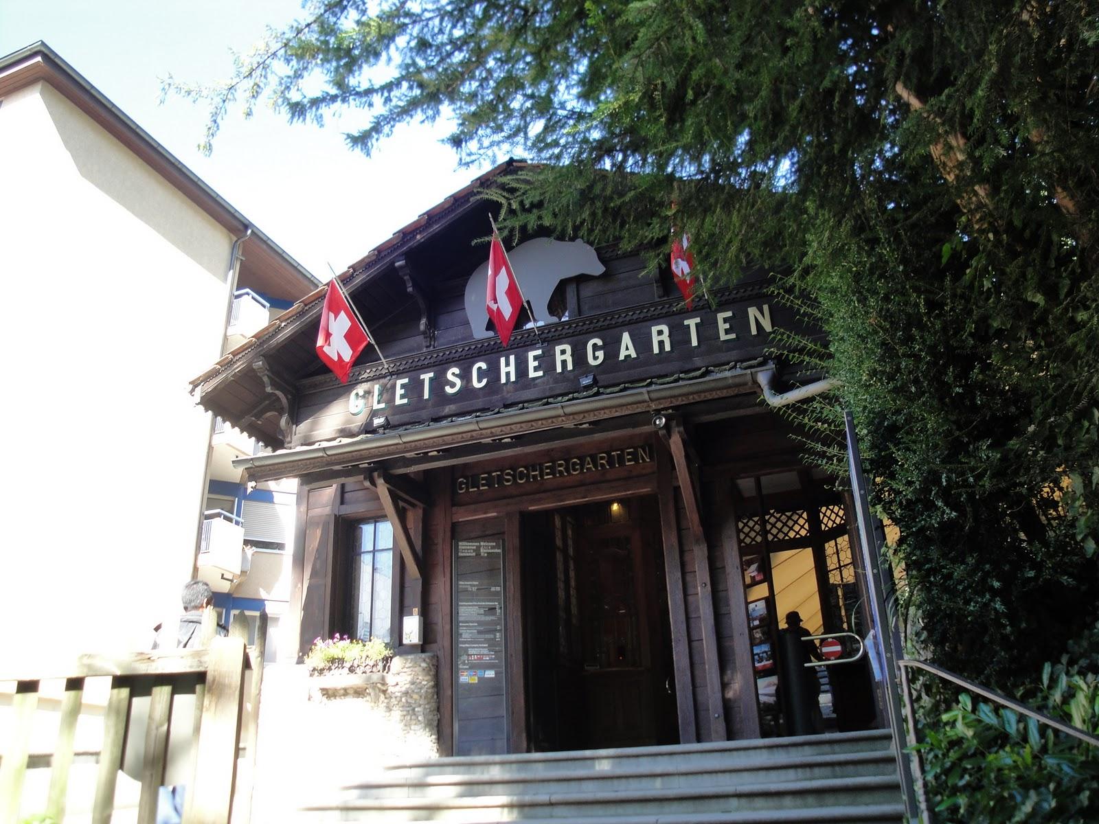 travel anthology gletschergarten luzern