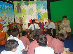 YJs meet Minister Anil Desh mukh, Dharaj Pillay & Mukesh Sharma..