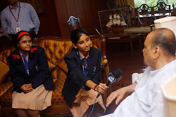 YJ Shefali in Conversation with the Governor of Maharashtra