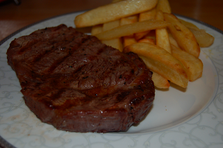 Rib Eye - medium rare - click picture to enlarge