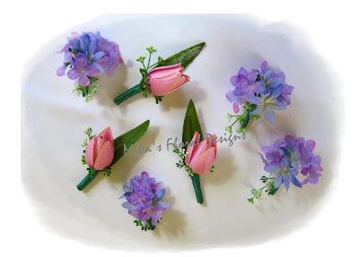 tulip corsage