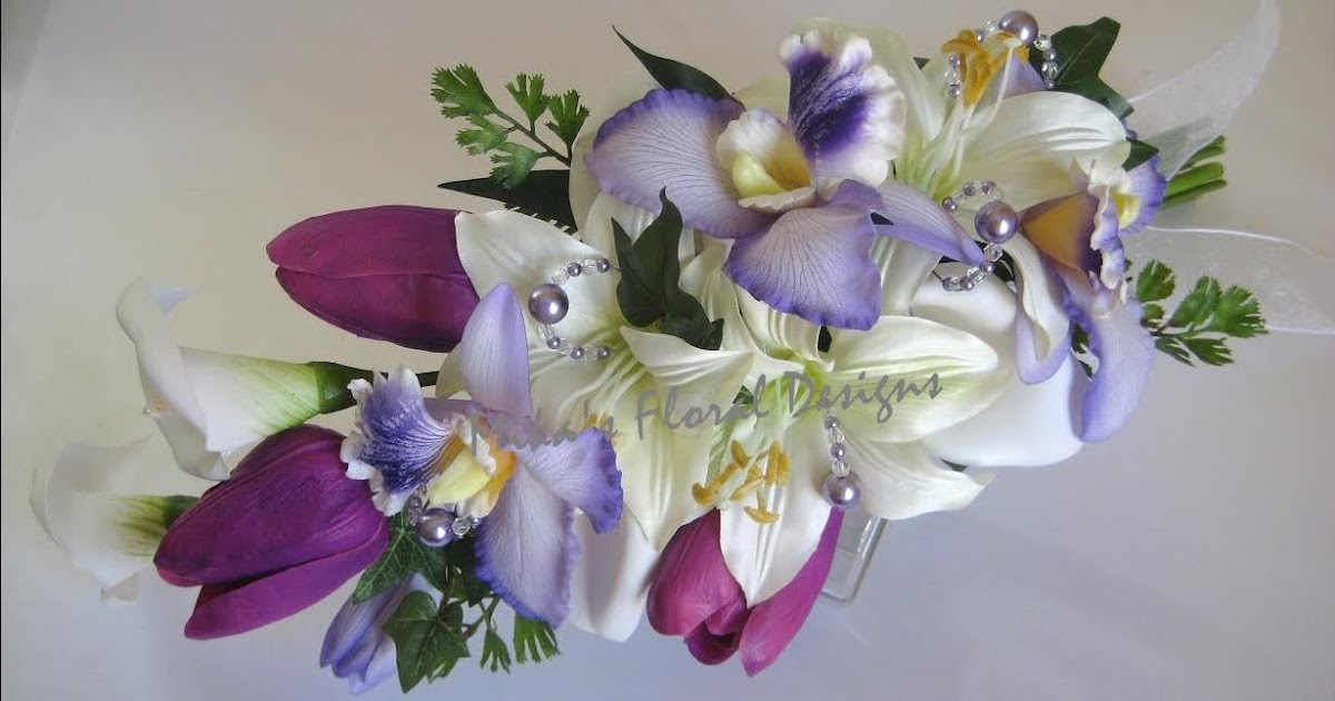 Artificial wedding flowers and bouquets australia arm