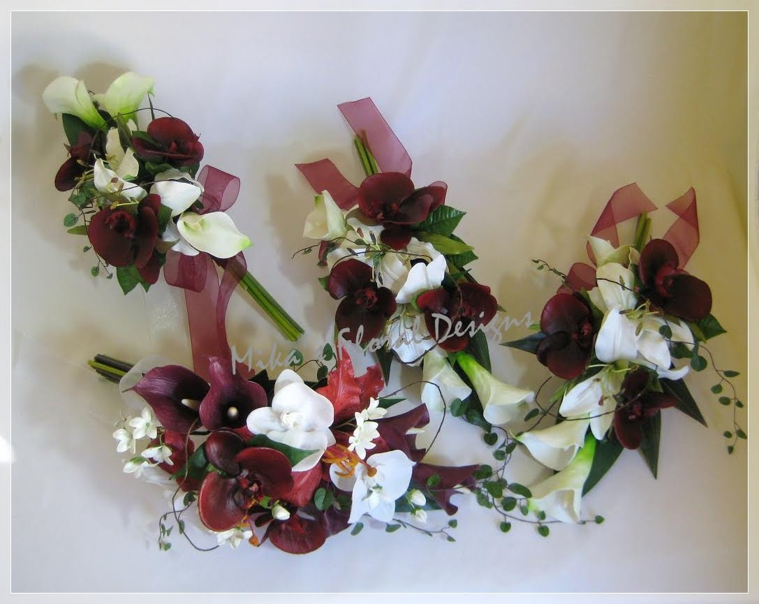 Artificial wedding flowers and bouquets australia lily