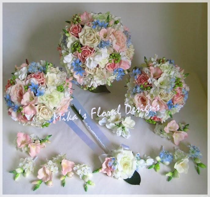 Artificial Wedding Flowers and Bouquets - Australia: Mixed Flowers ...