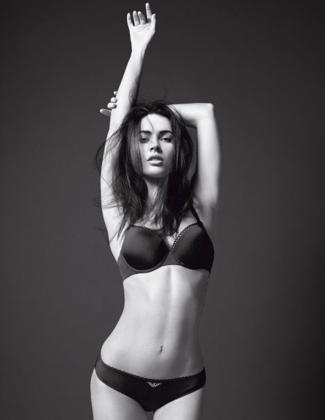 Megan Fox for Emporio Armani-fashionablyfly.blogspot.com