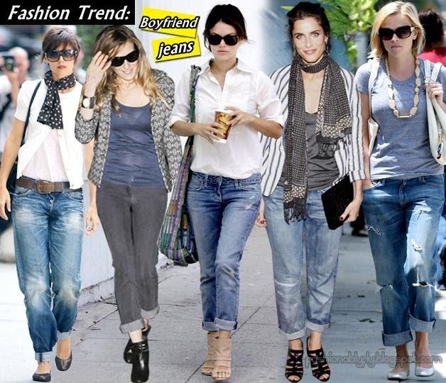 Celebrity Boyfriend Jeans+Fashionablyfly.blogspot.com