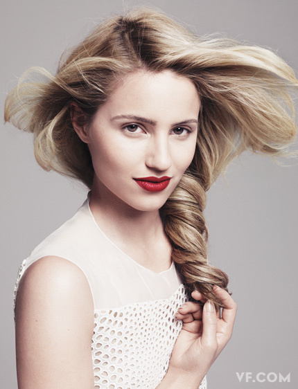 Dianna Agron Photoshoot 2014 Dianna Agron for Vanit...