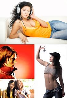 женщины, девушки, люди, клипарт