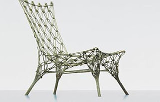 Knotted chair from droog