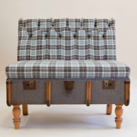 Modern Designer Furniture Blog 2 seater suitcase sofa from recreate from modern-designer-furniture.blogspot.com
