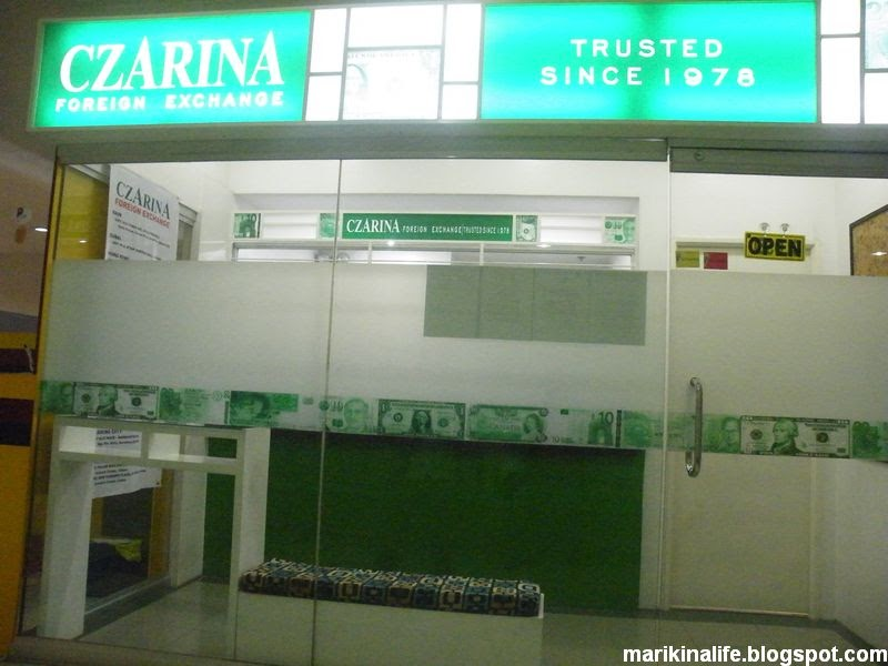 Czarina Foreign Exchange can be checked at Makati, Alabang, Baguio City, Cainta, and Quezon City for one of the best rates among foreign exchanges. Czarina started doing business for 40 years from the divestiture from Czarina Jewelry company.