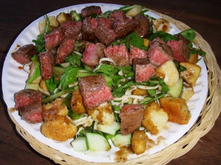Running with Teaspoons: Grilled Balsamic Beef Salad