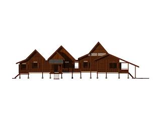 pelan ruang rumah tradisional