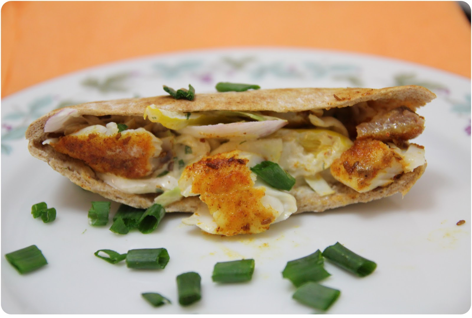 The spice rack pita pockets filled with fish cabbage and for Fish sauce kroger