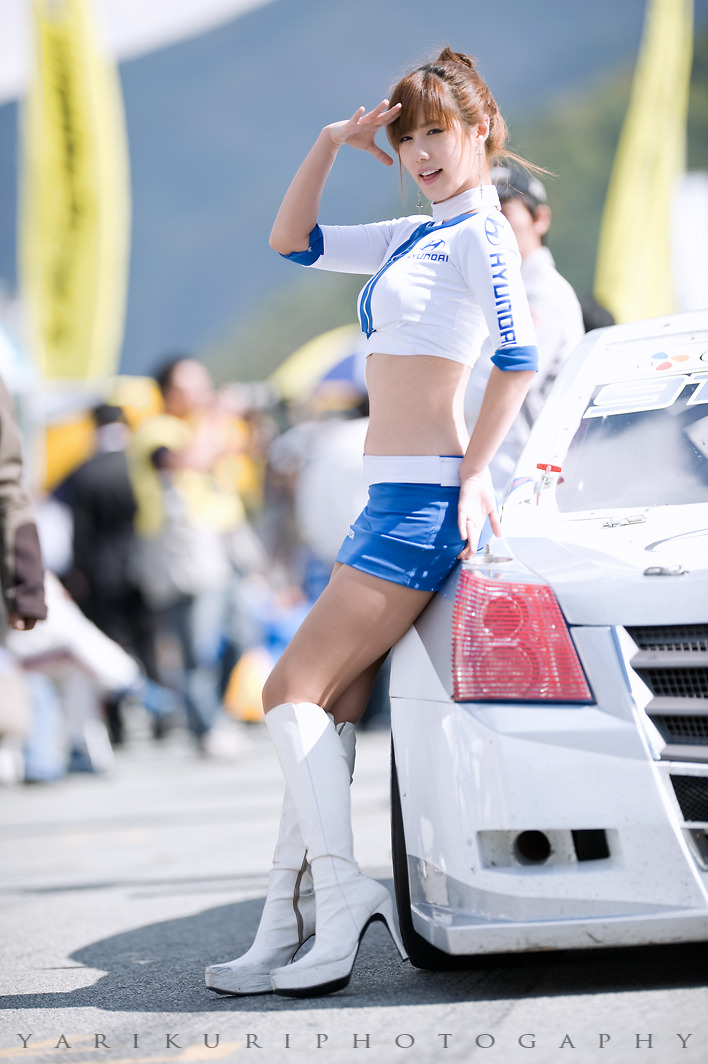 Song Jina in CJ Super Race Championship 6