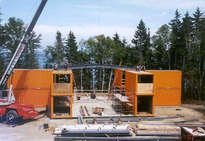 Plate forme technique en alsace un atelier dans des for Container alsace