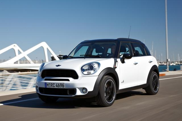 The MINI Countryman provides exclusive color options.