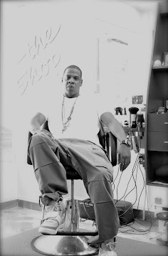 Jay-Z at The Shop