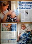 Freja i Aftonbladet