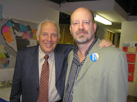 Bill with former premier Dave Barrett