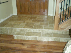 Versi Pattern Travertine Entryway