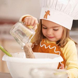 ... Taller de cocina, lectoescritura y recetas para hacer con los niños
