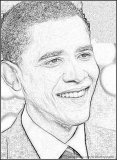 Obama Family Coloring Pages Free Coloring Page of Young Barack Obama