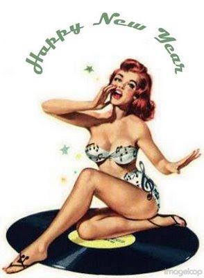 Happy New Year HappyNewYearPinUp