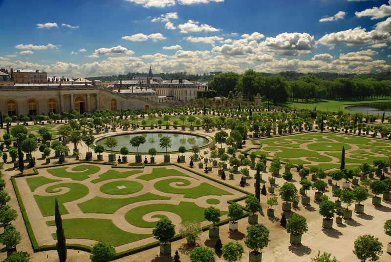 Art culture 104 versailles s gardens for Garden design versailles