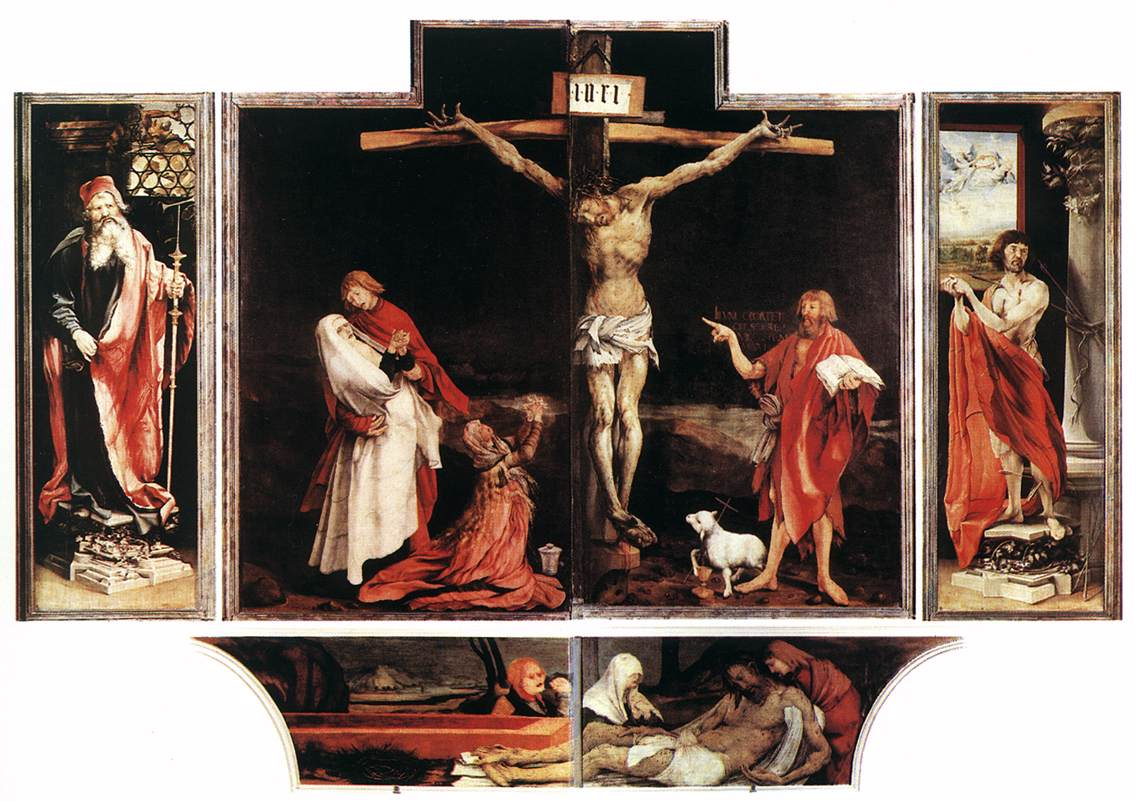 Grunewald Isenheim Altarpiece Art & Culture: ...