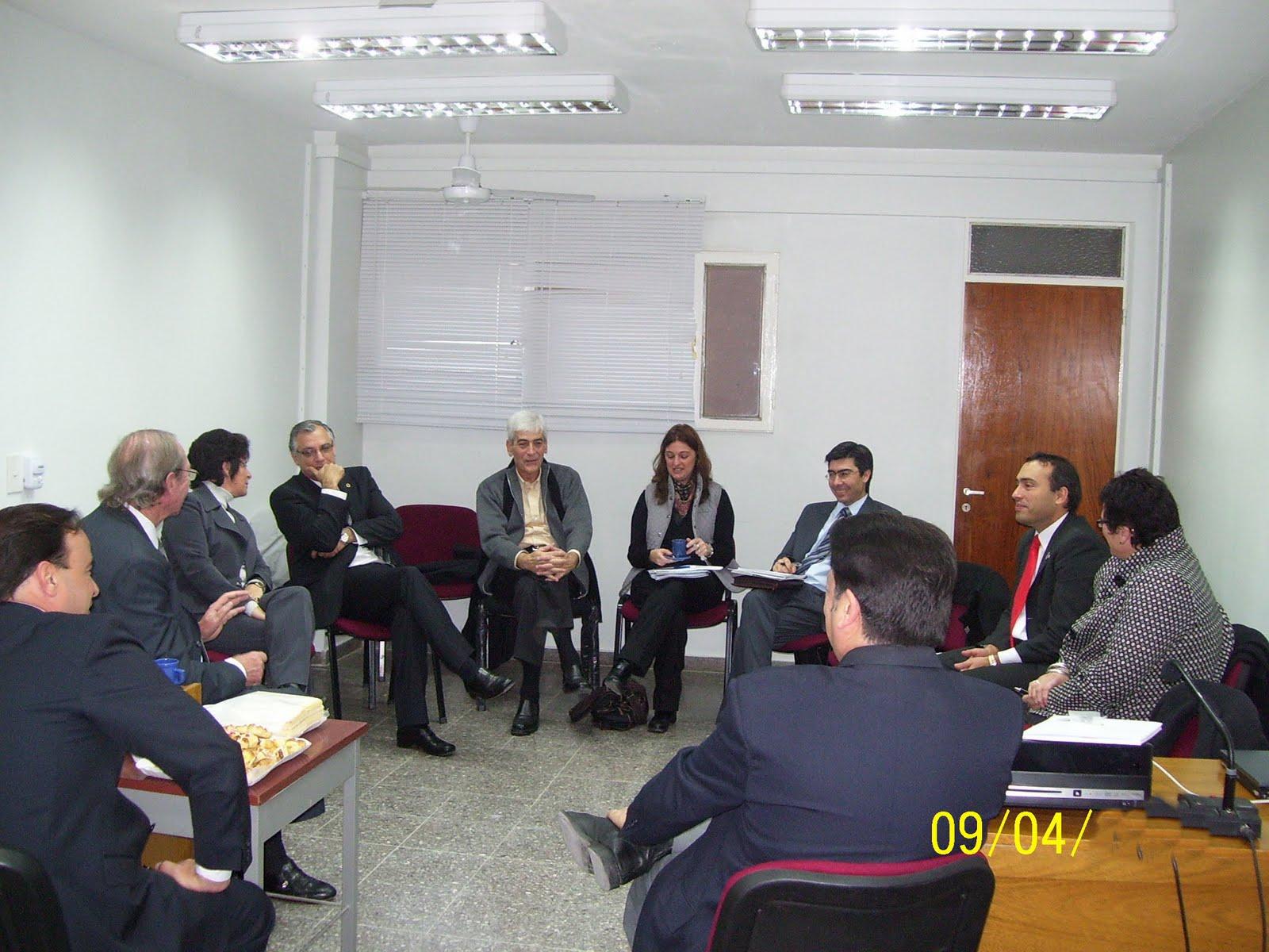 Oficina judicial trelew visita de funcionarios de la for Oficina judicial