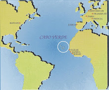 Cape Verde Praia Mission Map - Praia map