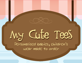 My Cute Tees - Personalised babies, kids' wear made-to-order
