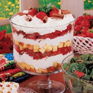... Strawberry Cheesecake Trifle Recipe & Healthy Gourmet Cooking Tips