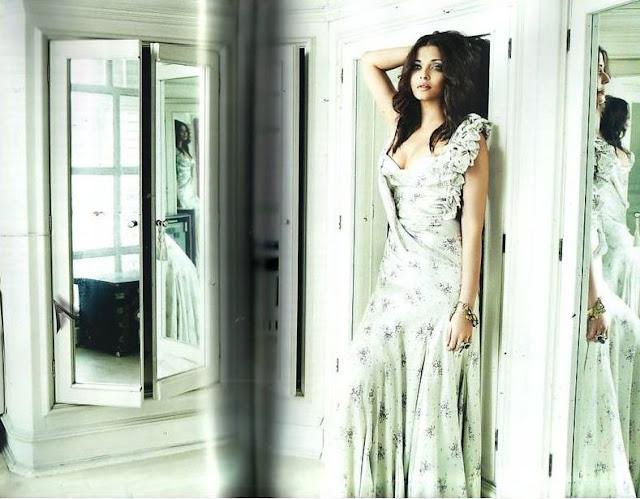 Aishwarya Rai and Abhishek Bachchan Vogue Magazine Scans