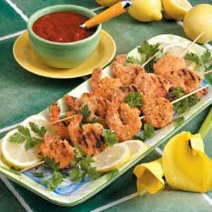 Gourmet Shrimp Kabobs Appetizer Recipe
